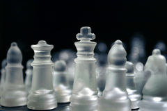 Chess men Royalty Free Stock Photography