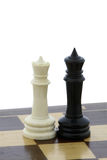 Chess Mesalliance Royalty Free Stock Images