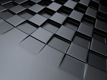 Chess metallic background Royalty Free Stock Photo
