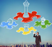Chess Minded Game Tactics Leadership Strategy Concept Royalty Free Stock Image