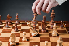 Chess move Stock Photo