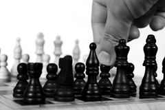 Chess move A Stock Photography