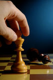 Chess move Royalty Free Stock Photo