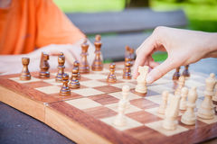 Chess Move Royalty Free Stock Photos