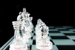 Chess - My valiant troups Royalty Free Stock Photos
