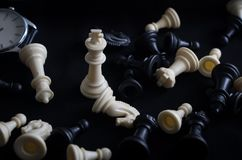 Chess is not just a game stock photo
