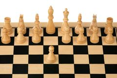 Chess opening Stock Photo