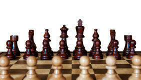 Chess Opponents Royalty Free Stock Images