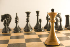 Chess Opposition Royalty Free Stock Photos