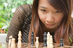 Chess Outdoor Stock Image