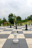 Chess in Park Stock Images