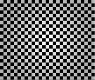 Chess Pattern Vector. Black and White Stock Photo