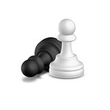 Chess Pawn Royalty Free Stock Photos
