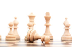 Chess pawn Stock Photography