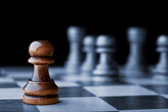 Chess pawn Royalty Free Stock Image