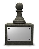 Chess pawn Stock Images