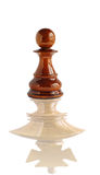 Chess pawn dream to become a king Stock Photos