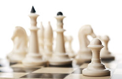Chess pawn isolated Stock Photos