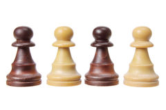 Chess Pawn Pieces Stock Photography