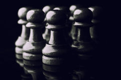 Chess pawns Royalty Free Stock Photography