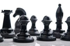 Chess pawns Royalty Free Stock Image