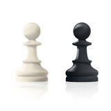 Chess pawns Stock Photography
