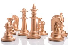 Free Chess Peaces Isolated Royalty Free Stock Photography - 116085117