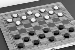 Chess. Photographed on a board Stock Photo