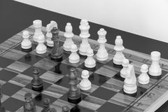Chess. Photographed on a board Royalty Free Stock Images