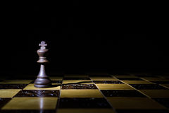 Chess photographed on a chessboard. Chess photographed on a chess board during game Royalty Free Stock Image