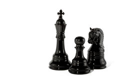 Chess piece. Isolated on a white background stock image