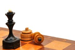 Chess piece Royalty Free Stock Photos