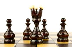 Chess pieces Stock Photo
