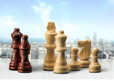 Chess Piece Royalty Free Stock Photography