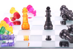 Chess. Piece isolated on white background Royalty Free Stock Image