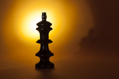 Chess piece: the king Royalty Free Stock Photos