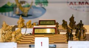 Chess piece of Montcada Royalty Free Stock Image