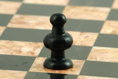 Chess piece the pawn Royalty Free Stock Images
