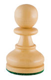 Chess piece - white pawn Royalty Free Stock Photo