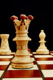 Chess pieces. Showing power competition conflict and strategy in business royalty free stock photos