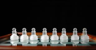Chess pieces-11 Stock Images