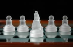 Chess pieces-24 Royalty Free Stock Photography