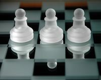 Chess pieces-27 Stock Images