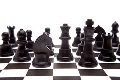 Chess pieces Royalty Free Stock Photos