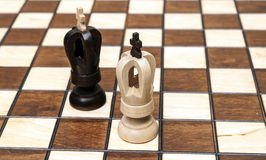 Chess pieces Royalty Free Stock Photo
