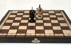 Chess pieces Stock Image