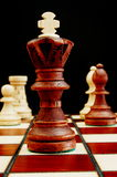 Chess pieces. Showing power competition conflict and strategy in business stock photos