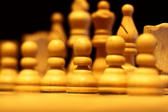 Chess pieces B Royalty Free Stock Photo