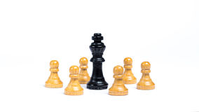 Chess pieces royalty free stock image