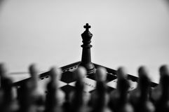 Chess pieces Royalty Free Stock Photography